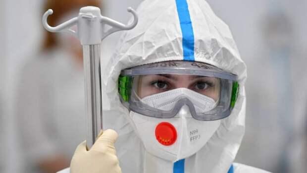 В России за сутки выявили 8790 новых случаев COVID-19