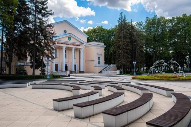 Сквер возле Дома учёных Курчатовского института открыт