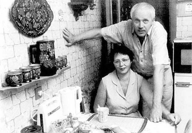 Владлен Бирюков (63 года) с женой Татьяной