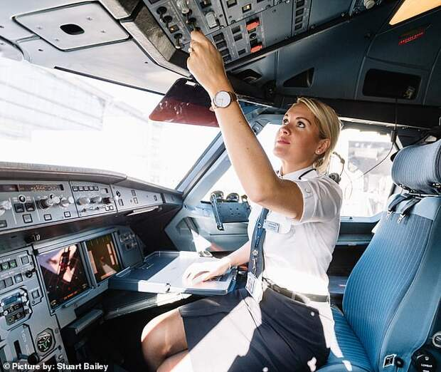 Покорительницы небес: девушки-пилоты из Великобритании рассказали о буднях в кабине самолета