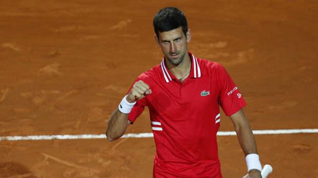 Джокович победил Сонего и сыграет с Надалем в финале турнира ATP в Риме