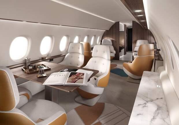 Dassault представил свой самый большой и быстрый бизнес-джет