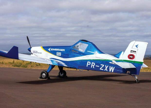 Бразильцы испытают электрический сельскохозяйственный самолет в 2021 году