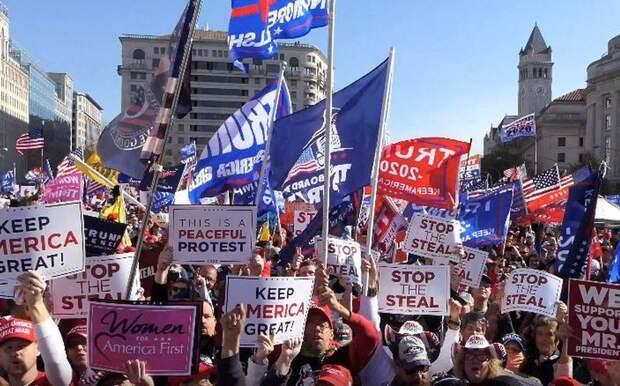 Демократия с кулаками: беспорядки в столице США
