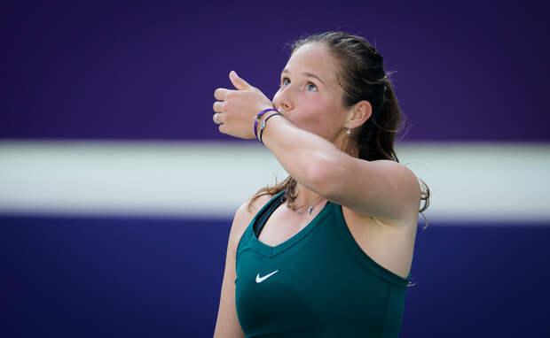 Касаткина поздравила Жабер с победой в финале турнира в Бирмингеме