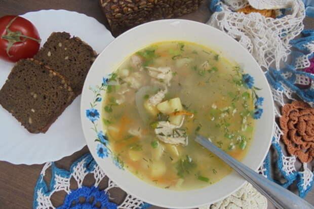 Фото к рецепту: Щи со свежей капустой и сушеной крапивой #литкухня #кулинар