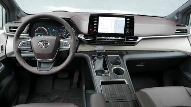 2021 Toyota Sienna vs 2021 Chrysler Pacifica Hybrid,сравнительный тест.