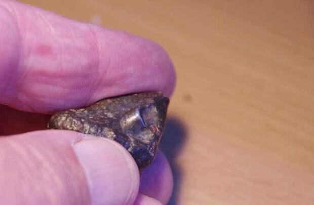 Искусственный металлический объект обнаружен внутри метеорита возрастом 4,5 миллиарда лет