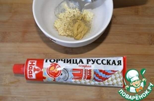 Рубленные котлеты из горбуши с горчицей