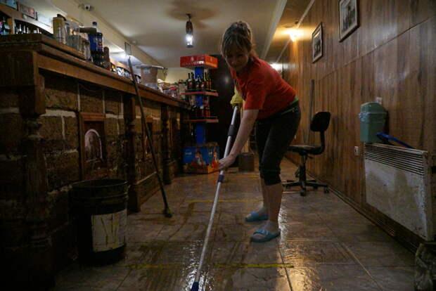 Пострадавшим от потопа предпринимателям  вряд ли компенсируют повреждённый товар