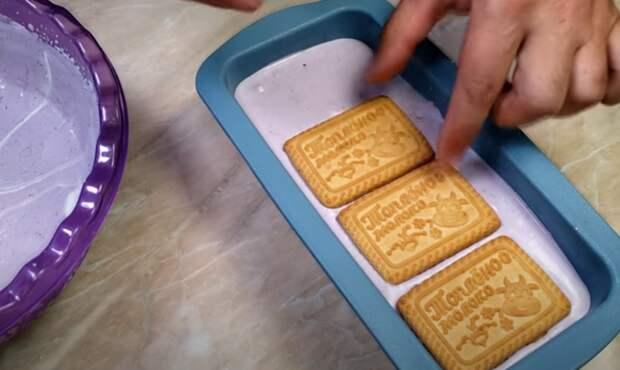 Заводы снова отдыхают! Черничное мороженное из 3 ингредиентов за 5 минут
