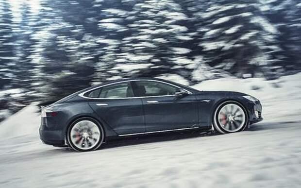 Норвежцы обвинили Tesla Model S в медлительности!