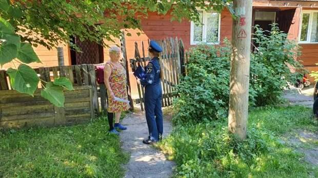 Специалисты МЧС по САО проводят патрулирование в зонах отдыха округа