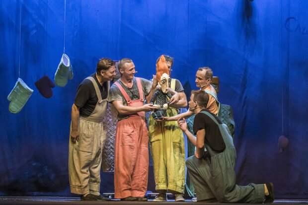Тверской театр кукол приглашает на премьеру спектакля