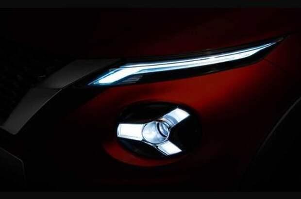 Новый Nissan Juke покажут в сентябре