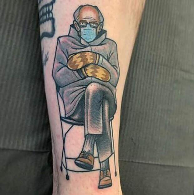 Эти 7 людей сделали тату с модными мемами, которые быстро вышли из моды, и про них все забыли