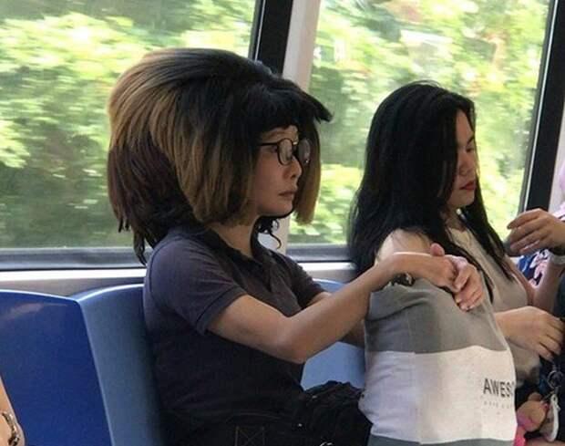 Новый тренд - глупая прическа? (18 фото)