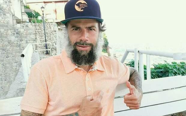 Экс-форвард «Зенита» Кежман кардинально сменил имидж, отрастив густую бороду