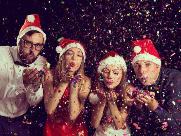 продолжили отмечать уже наступивший Новый год