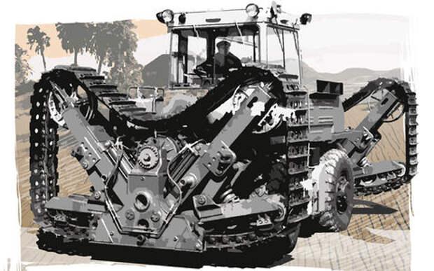 Советский трактор-монстр: он был такой один
