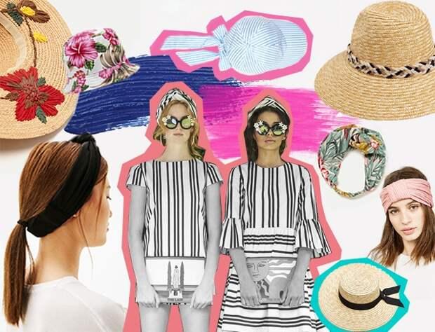 Модные головные уборы на лето: замена канотье