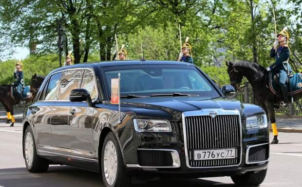 Японцы щедро оценили в Сети «бронетранспортер» Путина Aurus Senat...