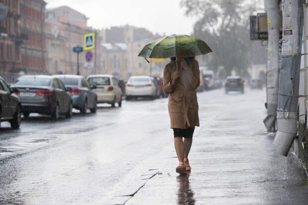 В Петербурге 6 мая может выпасть треть месячной нормы осадков
