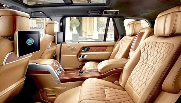 Салон Рейндж-Ровера/ Фото: carbodydesign.com
