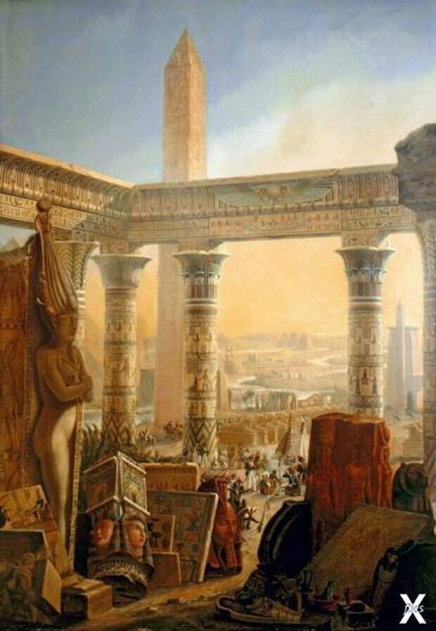 """Обложка второго тома """"Описания Египта"""""""