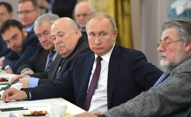 Молчание Путина