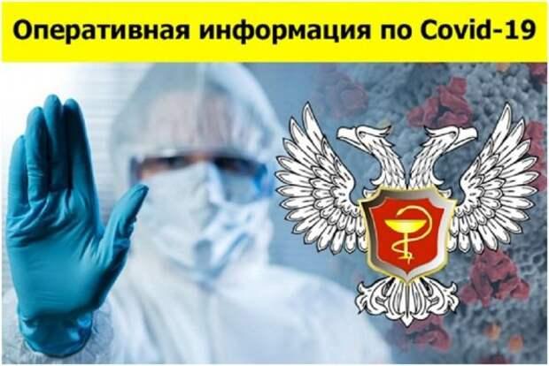 Свежая сводка по COVID-19 в ДНР: выявлено 395 новых случаев заболевания