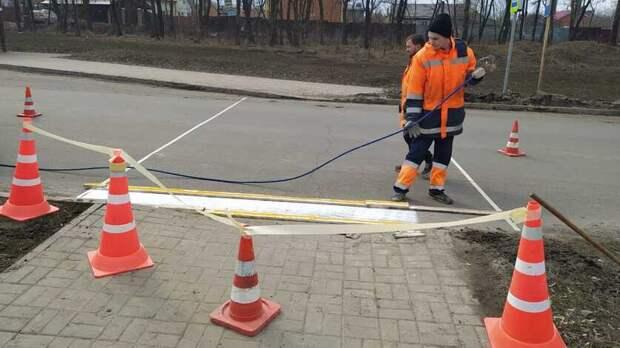 Новый пешеходный переход появился вСуворовском