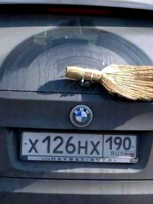 Авторский дворник для BMW.