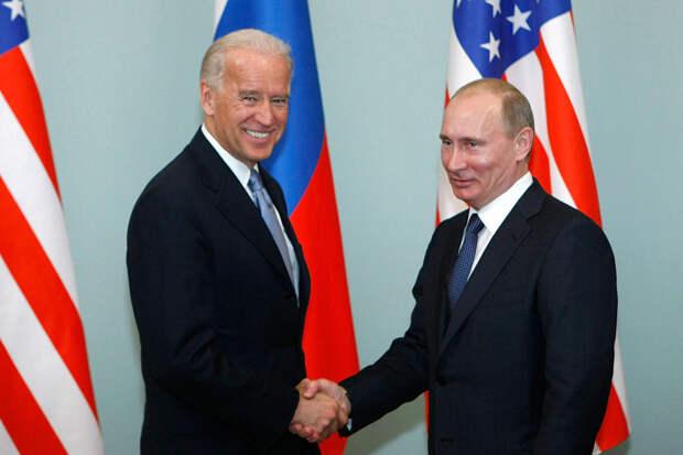 Американские СМИ назвали дату иместо встречи Путина сБайденом