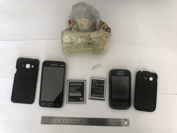 Двоих человек задержали за попытку переброса телефонов в ЛИУ-4 в Чите