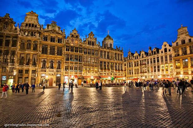 Прогулки по Брюсселю