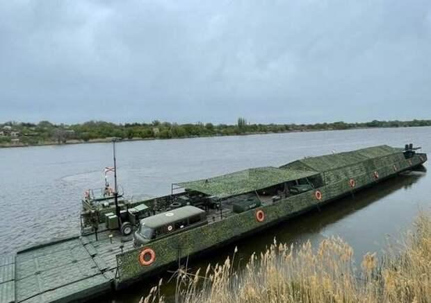 Жители Саратова увидят уникальный переход военных по Волге
