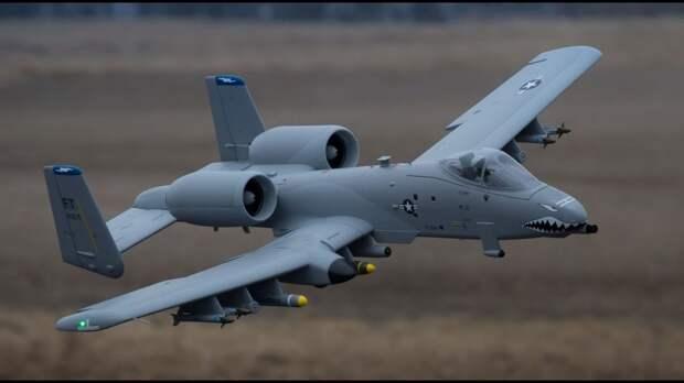 В США устаревшему штурмовику A-10 Thunderbolt II придумали новую защиту