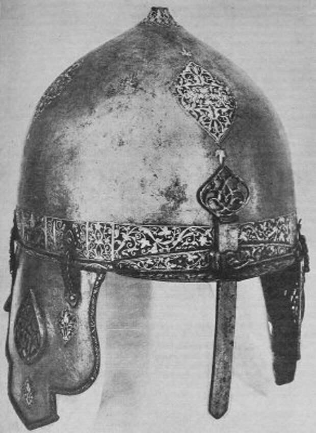 Золотая насечка и инкрустация на древнем вооружении