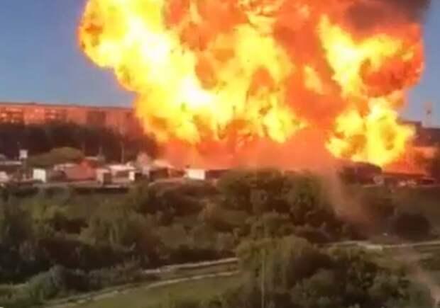 Число пострадавших при пожаре в Новосибирске возросло до 30