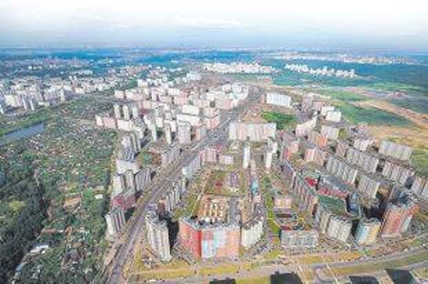 Cамая большая стройка Европы. В развитие Новой Москвы вложено 2трлн руб. инвестиций