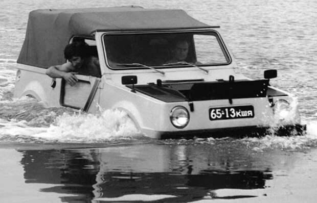 Проект «Река», или Как ВАЗ решили научить плавать вездеход