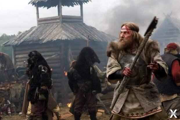 """Кадр из фильма """"Русичи"""""""