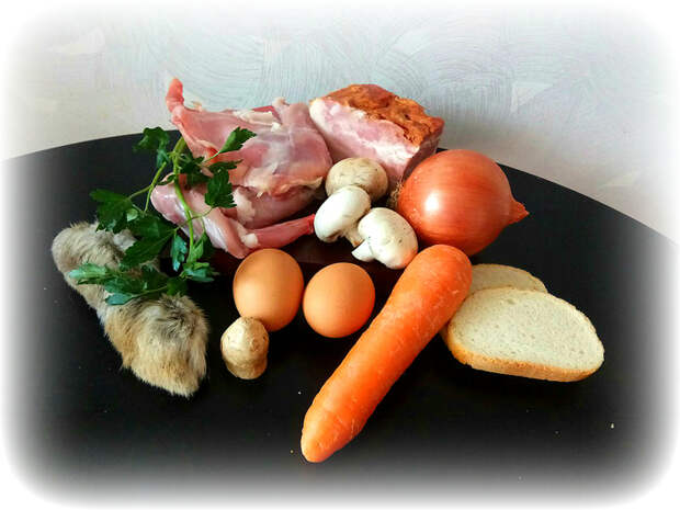 Паштет из Туссентской таверны Ведьмак, еда, рецепт, длиннопост