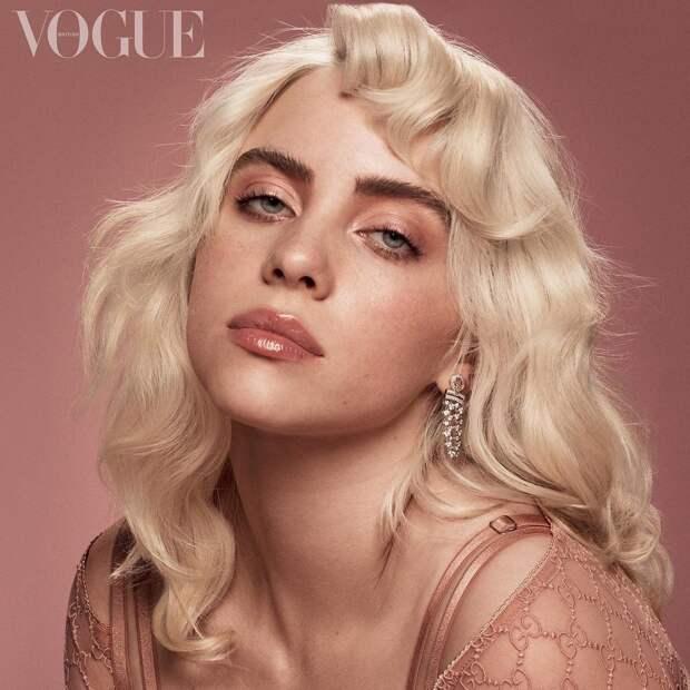 Билли Айлиш для Vogue