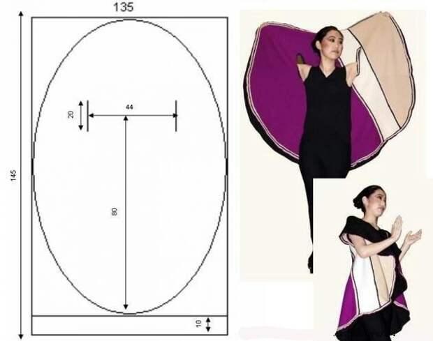 Простые идеи для шитья, или Как легко украсить себя осенью. Часть 3, фото № 13