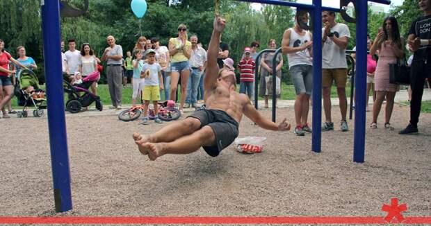 Севастопольский студент установил в Европе два рекорда по воркауту