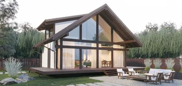 дом в современном стиле дизайн
