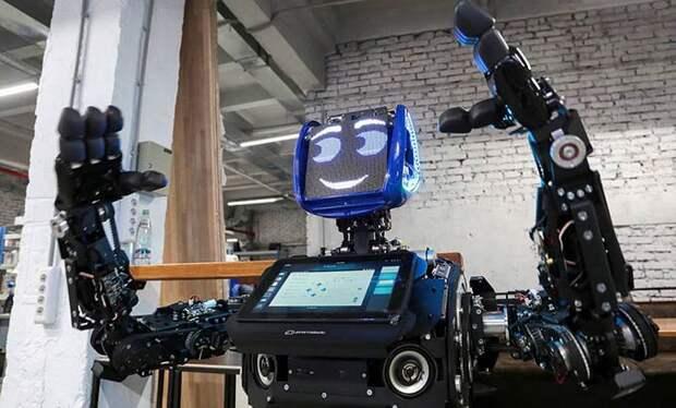 В России появятся роботы-полицейские к 2030 году