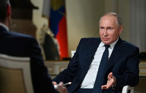Путин рассказал о развитии политической системы в России